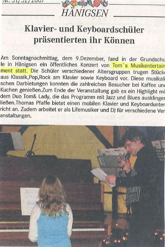 Referenzen / Presse